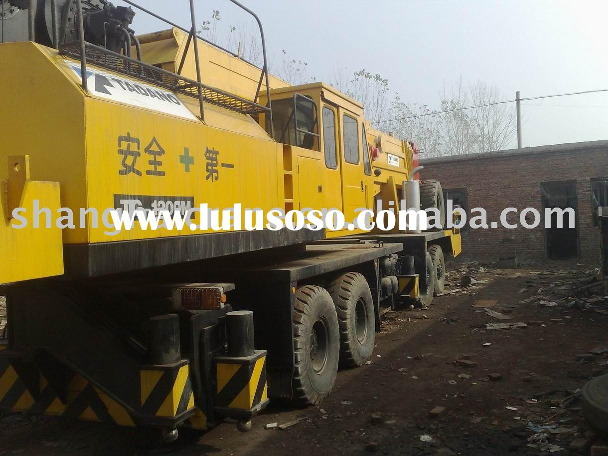 uaes mobile crane for sale tadano tg1200-m 12t in good working condition ( used tadano crane , all t
