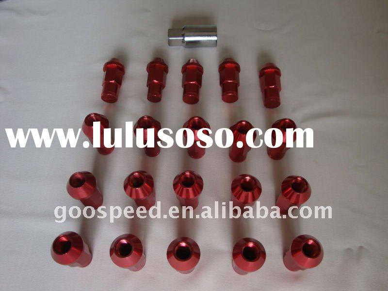 universal auto racing wheel bolt and nuts