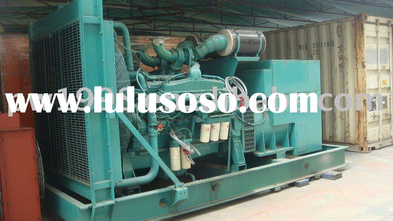 used secondhand cummins diesel generator set