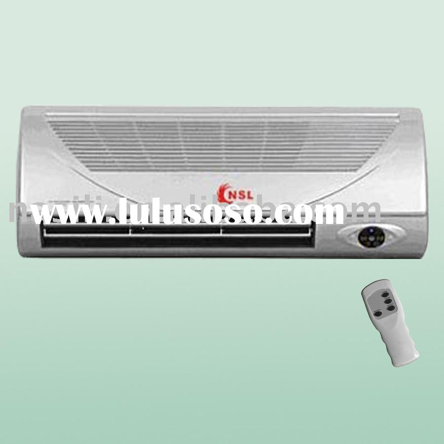 wall heater with remote control