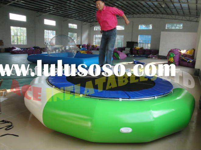 water inflatable trampoline