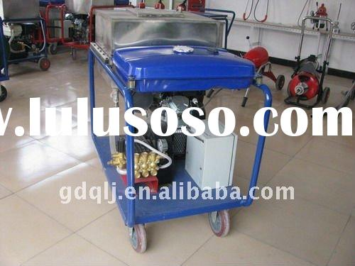 water jet cleaning machine 210A pipe high pressure cleaner