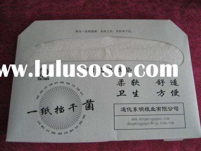 water soluble disposable toilet seat cover paper