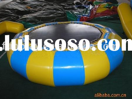 water trampoline/ jumping bed/ inflatable trampoline