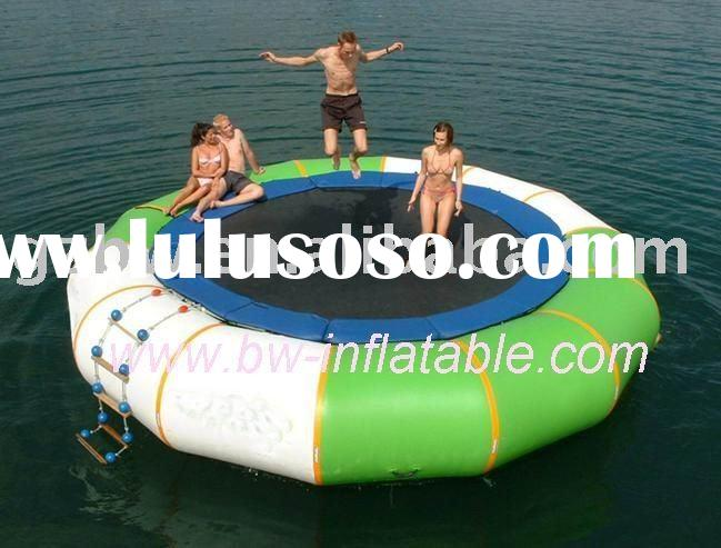 water trampoline/water jumping bed/water games