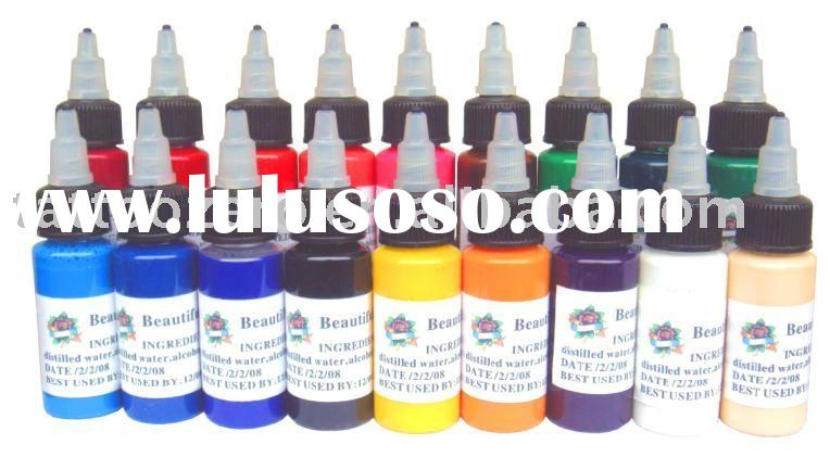 Tattoo ink wholesale tattoo ink wholesale manufacturers for Cheap tattoo ink