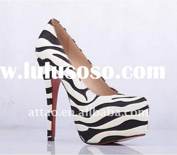 wild zebra print Highheels/footwear shoes 2011