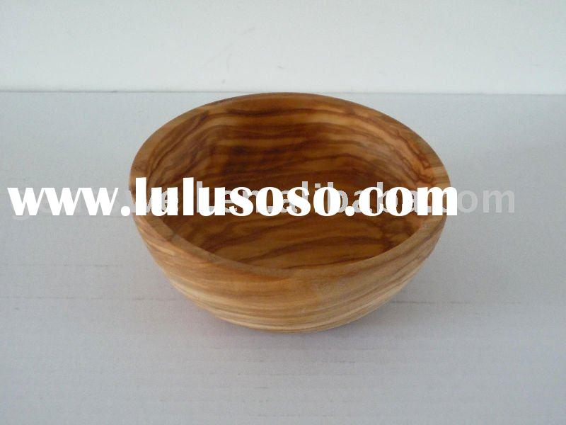 wooden bowl, salad bowl, fruit bowl,nuts bowl, Olive wood dia.13cm