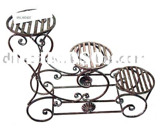 wrought flower pot stand (iron furniture)