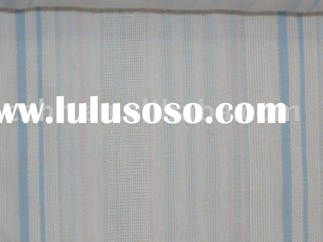 yarn/dyed cotton fabric