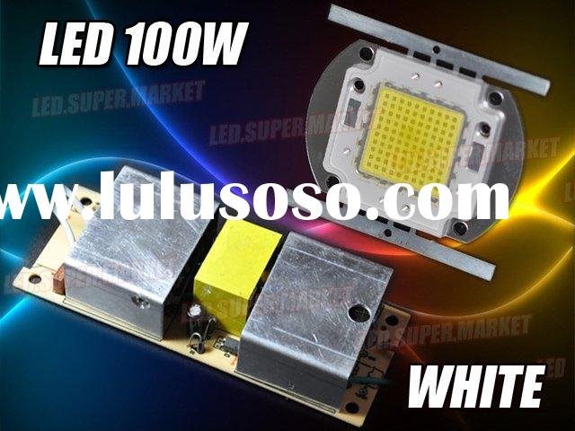 100W White High Power 6500LM LED Lamp Light + AC Driver