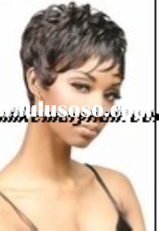 100% human hair short full lace wig lace front wig indian remy hair