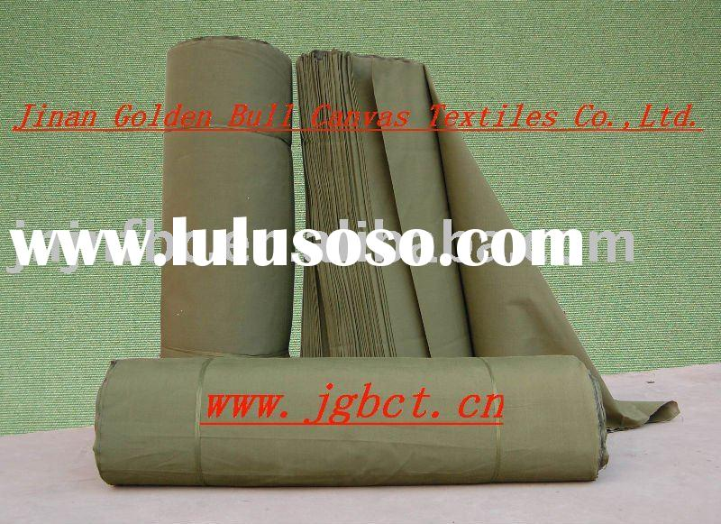 100% pure terrylene canvas waterproof tent fabric