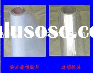 100microns clear transparent plastic polyster PET film roll/sheet for positive screen inkjet printin