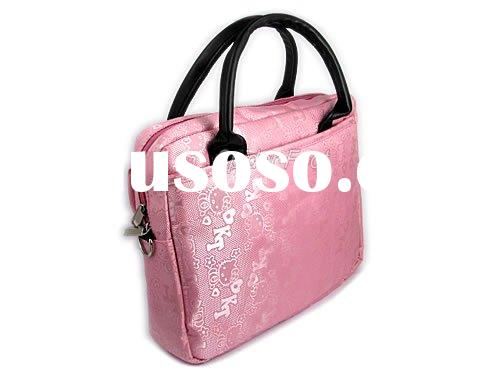 10.2 Inches Pink Hello Kitty Handbag Laptop Case