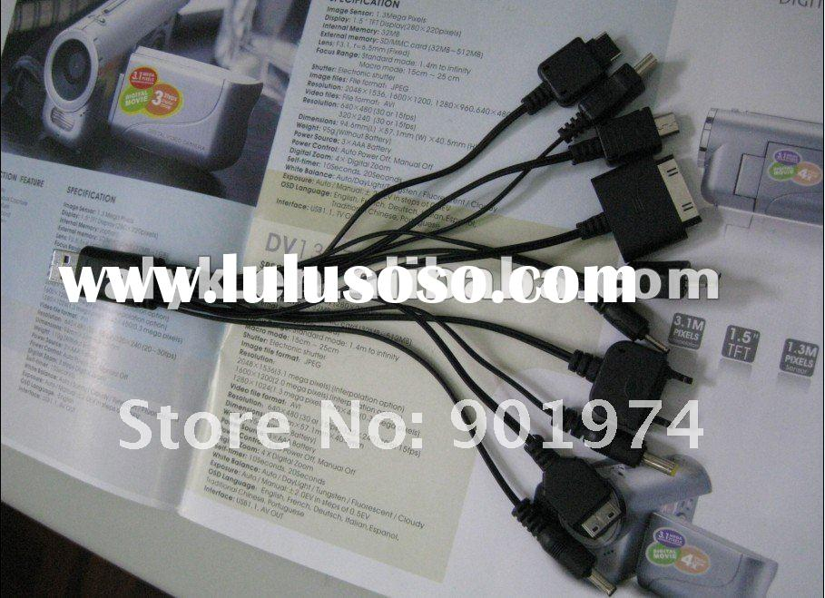 10 in 1 Universal USB Charger for Mobile Phones, Universal USB Charger for Mobile Phones, Universal