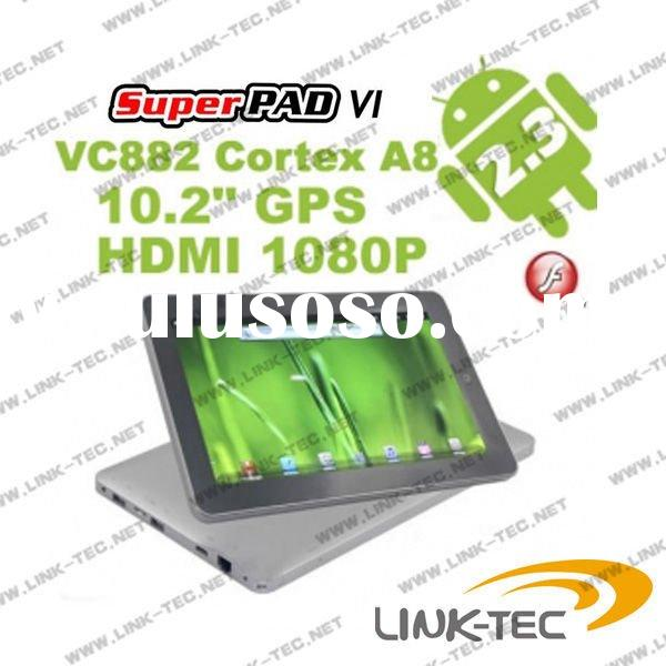 10 inch Tablet PC Android 2.3 Vimicro Fly touch 6