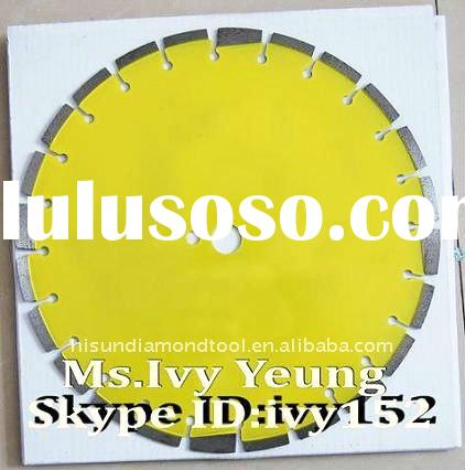 14''Diamond Saw Blades for Asphalt & Green Concrete with protect teeth