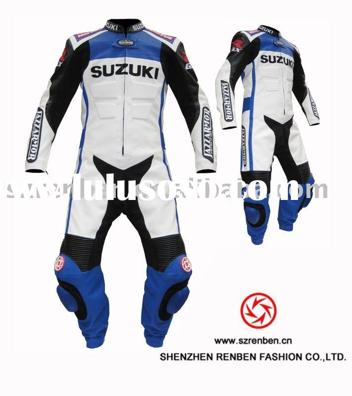1.2mm cow leather motorcycle racing suit