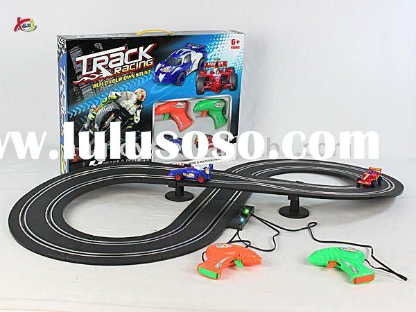 1:43 Scale Plastic BO Car Race Track
