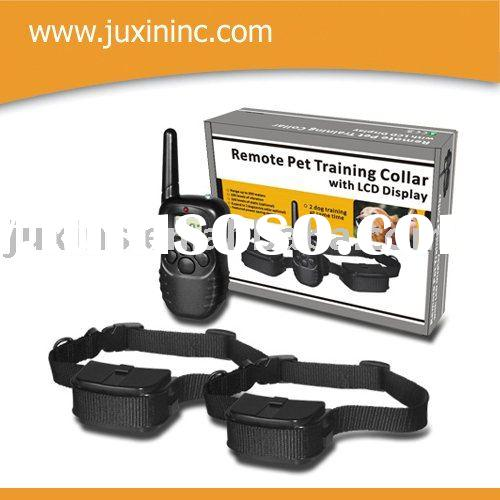1 for 2 Remote Pet Training Collar with LCD Display