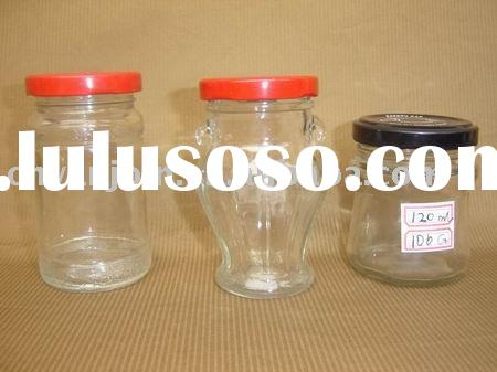 200ml Glass Jar With Metal Lid