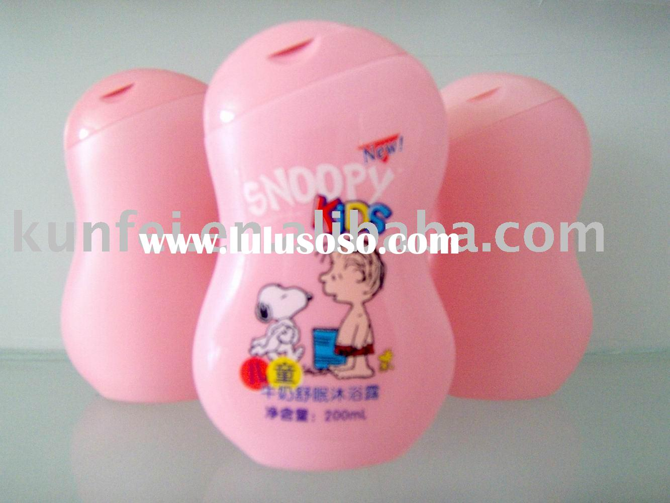 200ml plastic PE Cartoon baby shampoo bottle,Cartoon baby lotion bottle,cartoon baby shower gel bott