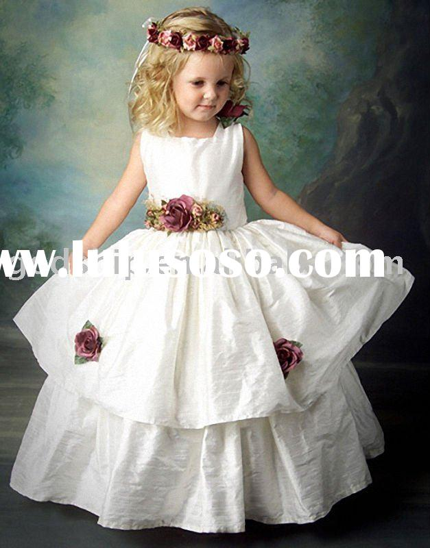 2010 Buautiful New Style Exquisite Angel Flower Girl Clothes Fashion Girl Dresses Clothing In Summer