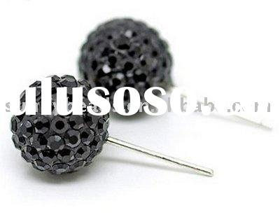 2011 Fashion Jewelry,Crystal Ball Earrings CE002
