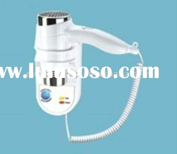 2011 Latest Design Wall Mounted Hair Dryer With LED Night Light AICL Plug