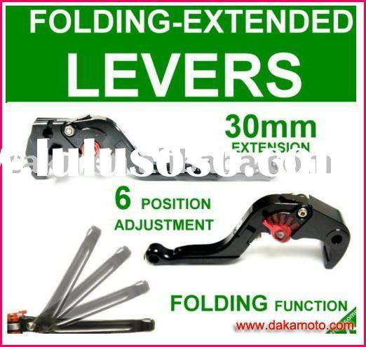 2011 New Aluminum alloy Floding -Extended-Adjustable DoublePro Clutch Brake lever/levers