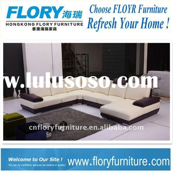 2011 hot sale corner leather sofa italian leather corner sofa F886#