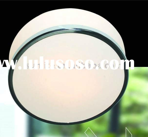 2011 modern Round Opal white glass ceiling lamp