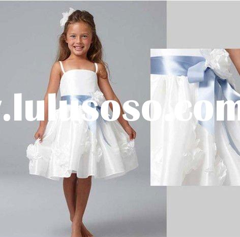 2011 new designer purple pageant vintage BB0005 Flower Girl Dress