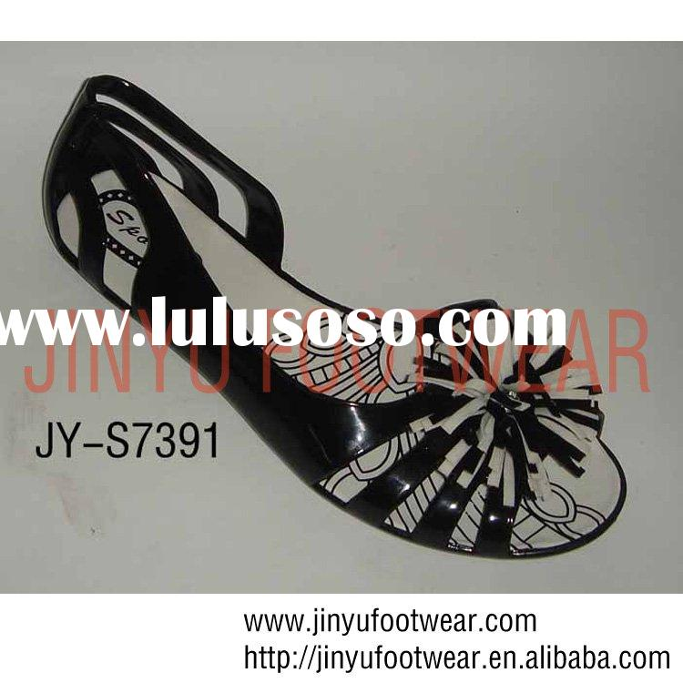 2011 plastic jelly sandals