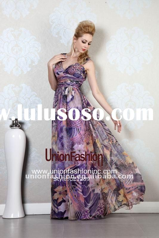 2012 Charming Evening Dress/prom dress in Mysterious Color UE1289