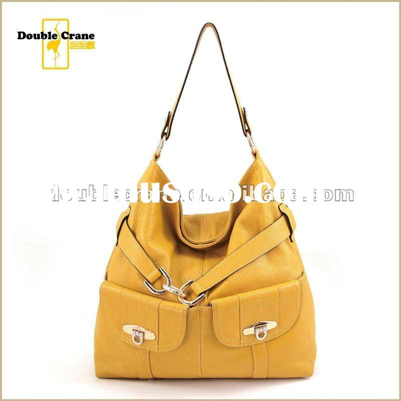 2012 Trendy real leather bags handbags fashion