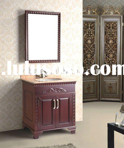 2012 classic designs Model 9267 solid wood bathroom cabinet