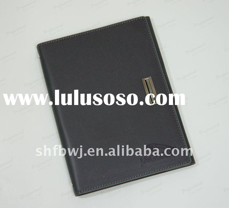 2012 leather cover spiral notebook notebook holder