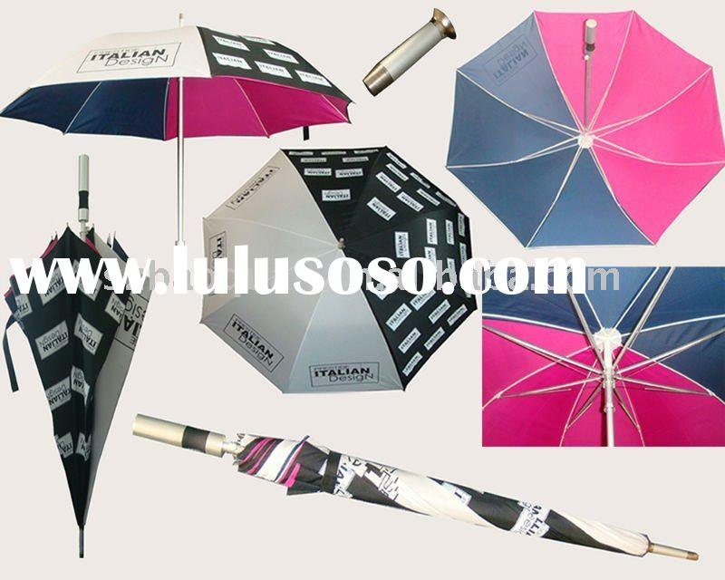 2012 new design double layer golf umbrella