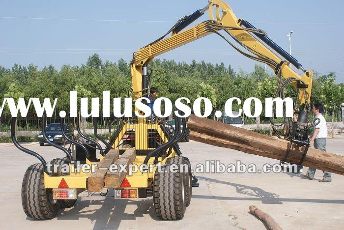 2012 new log loader trailer trailer / atv log loader/ tractor loader