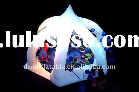 2012 new outdoor use inflatable dome tent