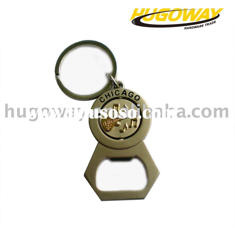2012 promotional bottle opener with key holder