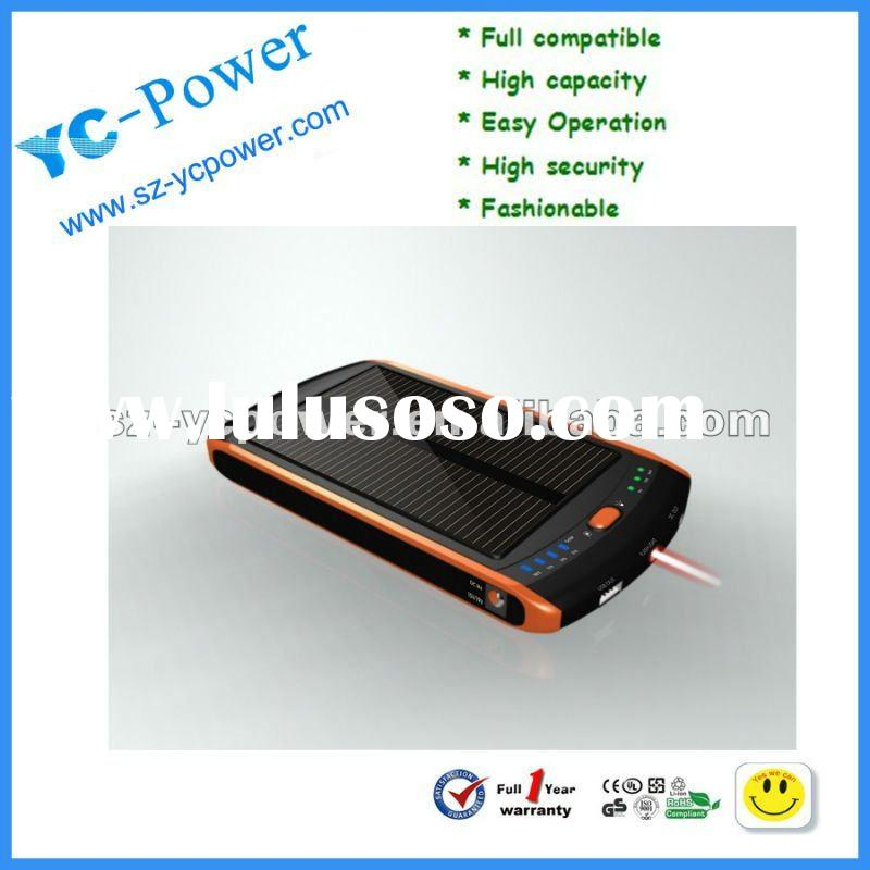 2012 super high quality solar charger for mobile phone,solar battery charger for laptop,Solar Power