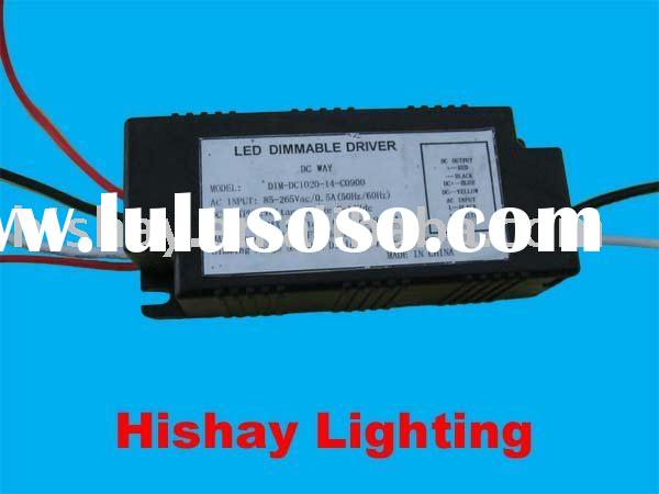 20W DC 0-10V Dimmable LED driver