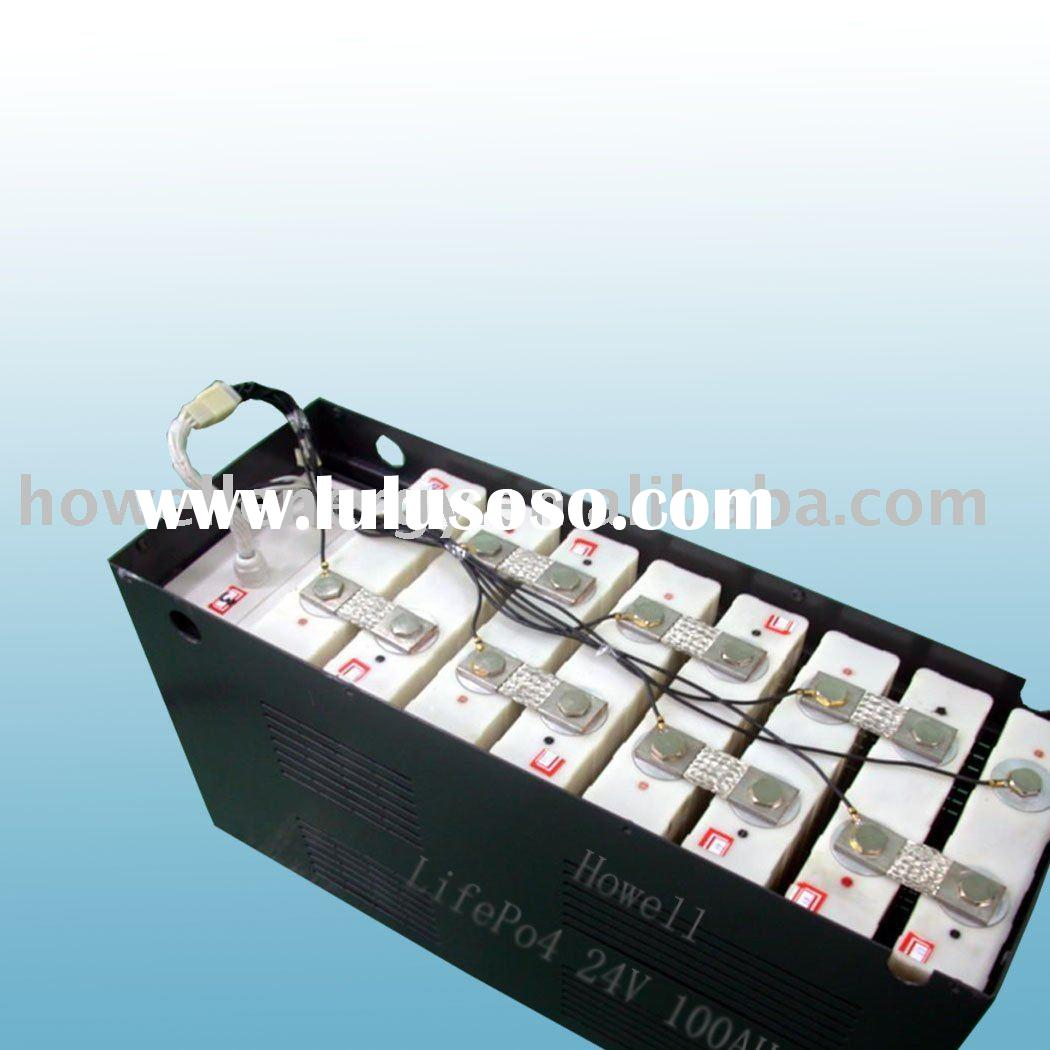 24V 100Ah Car battery, electric scooter battery