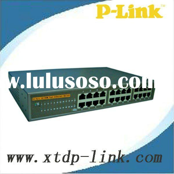 24 Port 10/100M ethernet network switch router/computer network swtich