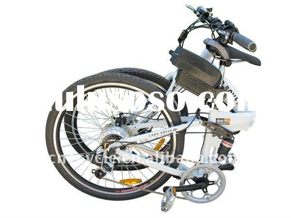 26inch wheel folding electric bike with Li-ion battery