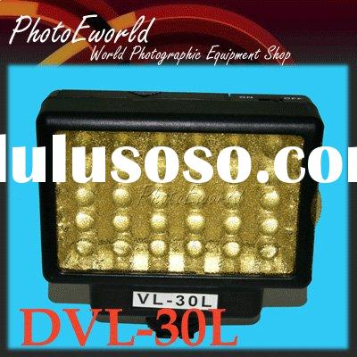 30 LED Video light PANASONIC SAMSUNG HITACHI Camcorder