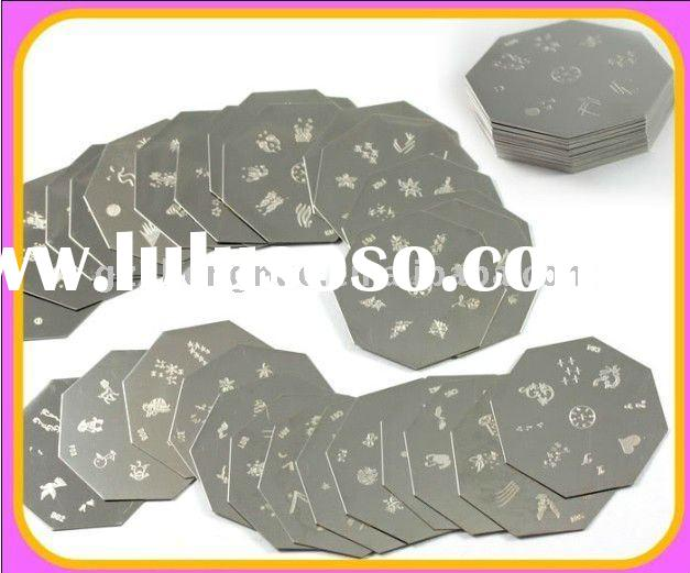 30pcsx 2400 Designs Nail Art Stamping Metal Plate Set HN408